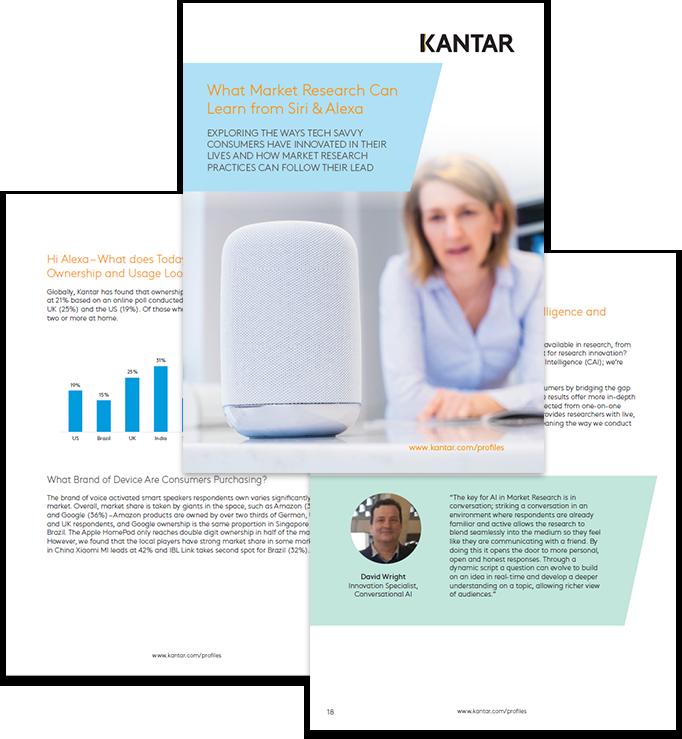 market research, siri, alexa, smart speakers